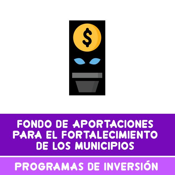 PROGRAMAS DE INVERSION